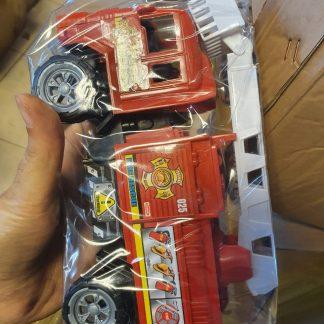 juguete camion de bomberos a friccion 24cmx12x9cm
