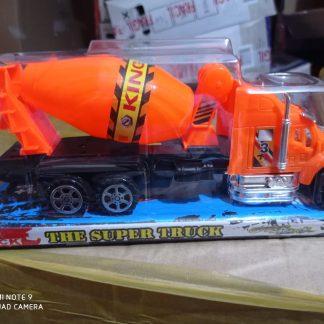 camion de construccion a friccion 29X13X9CM hormigonera